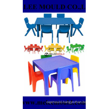 Plastic Preschool Chair Table Set Mould