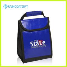Bolsas de almuerzo con aislamiento térmico no tejido promocional azul