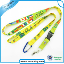 2016 Small Business Ideas Cheap Polyester Lanyards