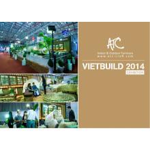 Vietbuild Messe 2014 Moderne Rattanmöbel