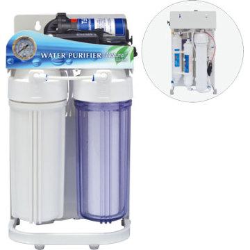 Novo tipo de purificador de água do sistema RO com moldura
