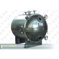 Secador de vácuo para a solução de sulfato ferroso de amônio