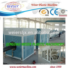 Recycled HDPE material pipes production machine