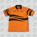 Quick dry mens short sleeve hi-vis polo shirt