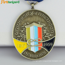 Customized Souvenir Metal Medal With Plated