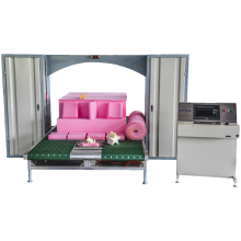 CNC High speed industrial foam cutter machine With 360 degree rotary lifting platform