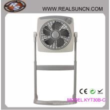Ventilador de caixa de 12 polegadas permanente com altura ajustável