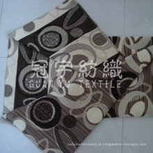 Poliéster e acrílico do Jacquard Chenille tecido para sofá