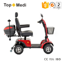 Folding Heavy Duty Electric Sport Mobility Scooter with LED & Basket