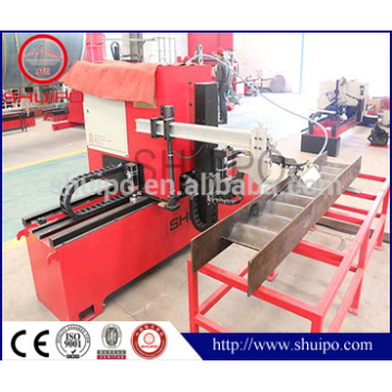 Automatic numerical control corrugated plate welding machine