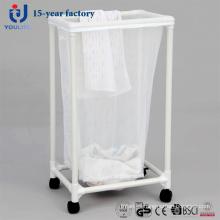 Cesta de lavadero móvil de bolsa única