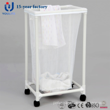 Single Bag Mobile Laundry Basket
