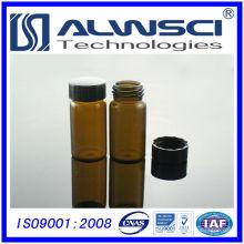 Frasco de armazenamento de vidro para laboratório de venda de fábrica com tampão de PP tampão de laboratório similar
