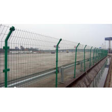 PVC-beschichteter Zaun in verschiedenen Farben