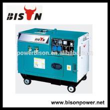 BISON (КИТАЙ) 1.8кВт портативный дизельный сварочный генератор с колесами