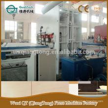 Máquina de prensa de Qiangtong para el tablero de la melamina