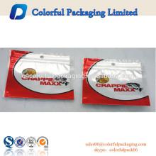 Aluminiumfolie Ziplock Tasche Fischköder Verpackung Tasche