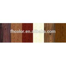 Peinture en poudre texture de bois de peinture