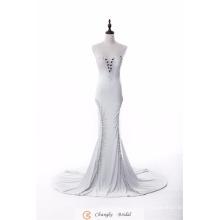 Elegante vestido de noiva formal Vestidos de cristal Mermaid Suppliers 2017