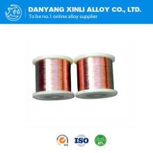 China fabricante Manganin aleación 6j12 para el aparato de medición