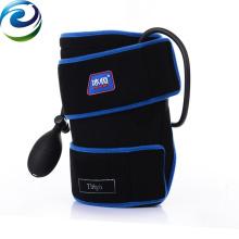 Enveloppe de nylon d'emballage froid intermittent de cuisse de compression pneumatique