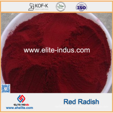 Natürliche Lebensmittelfarbe Red Radish Rettich Red Pigment