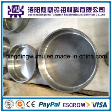 Crisoles / Crisol de tungsteno sinterizado pulido de la alta densidad y de la temperatura del 99.95% / Crisoles / crisol de molibdeno de los crisoles para la industria de la tierra rara