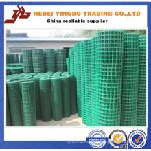 Valla de acero-004 Valla de PVC verde de calidad garantizada