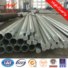 15m Galvanized Electric Pole with HDG in Africa