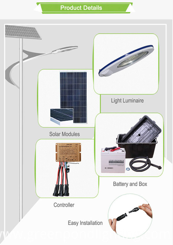 Solar Power LED Street Lighting