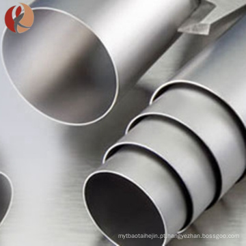 Grau 1 titânio puro tubo de titânio exaustão de 3 polegadas