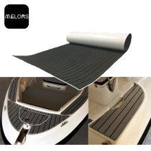 Melors Adhesive Flooring Faux Teak für Boote