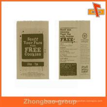 Gravurdruck kundengerechte Feuchtigkeitsbeweis Nahrungsmittel, die Papiertasche verpacken