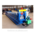 Hebei xinnuo cheap price square steel water rain cap gutter roll forming roofing sheet machine for sale