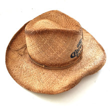 Señora Sombrero de Paja para la Moda
