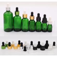 Frasco conta-gotas de cor verde 30ml (NBG04)
