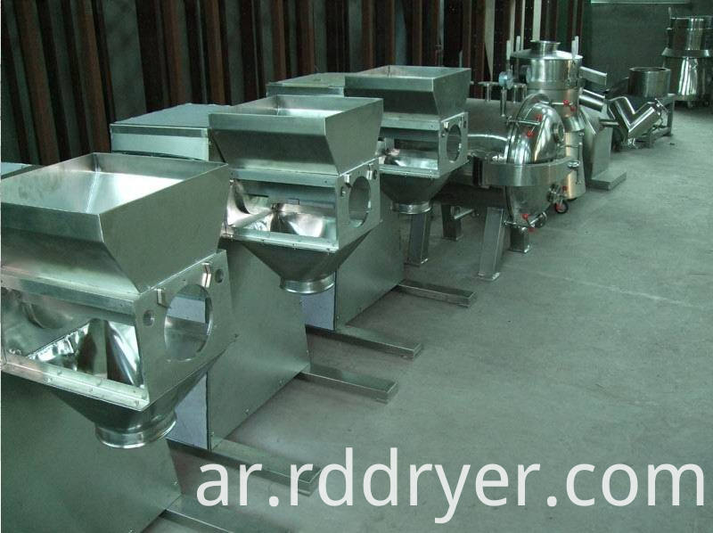 YK Double Cylinders Swing Granulator