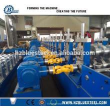 Metall W Profil Roll Forming Machine, Highway Guardrail Platte Roll Umformmaschine mit hoher Geschwindigkeit