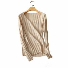 16GG Neue winter 100% kaschmir pullover dame V kragen pullover mode farbe stricken pullover woment dünnes hemd
