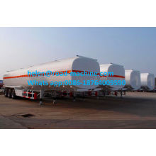 3 Axles Square Shape Chemical Liquid Tanker Trailer