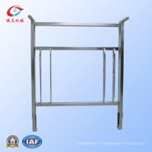 Pièces de lit d'hôpital en acier métallisé personnalisables de qualité supérieure