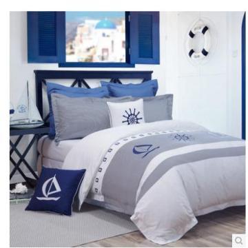 Canain 5 Sterne Hotel Satin Bett Bettwäsche 100 % Baumwolle weiß