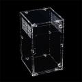 Caixa acrílica de insetos para animais de estimação e animais pequenos