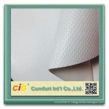 tissu enduit de bâche de PVC / bâche de maille de PVC / bâche transparente de PVC pour le bateau / tente / camion