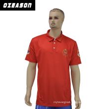 Custom Design Sublimated Sportswear Club Red Polo Shirt