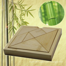 Bambus Tangram Puzzle für Werbegeschenk