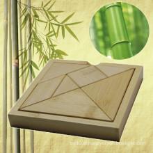 Bambu Tangram quebra-cabeça para o presente promocional