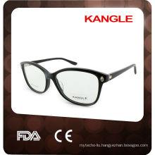 2014 New Design Female Style Shining Colorful Acetate Optical frames
