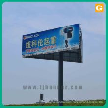 Advertising outdoor banner billboard sign