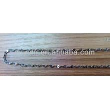 316L Níquel metálico de aço inoxidável e corrente livre de chumbo